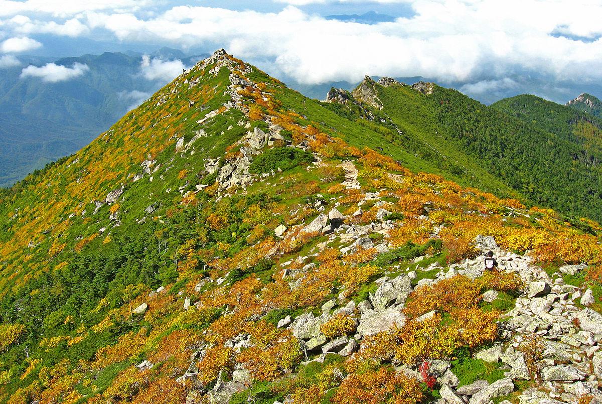 Mt Kimpu Yamanashi Prefecture Japan