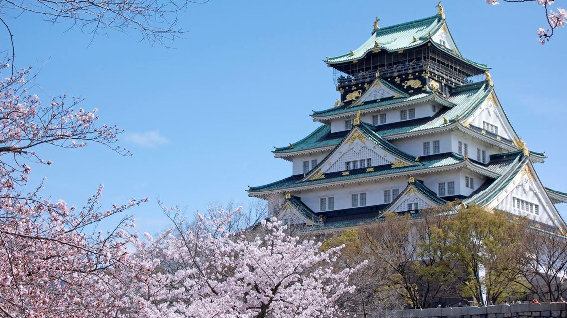 osaka castle - osaka prefecture japan