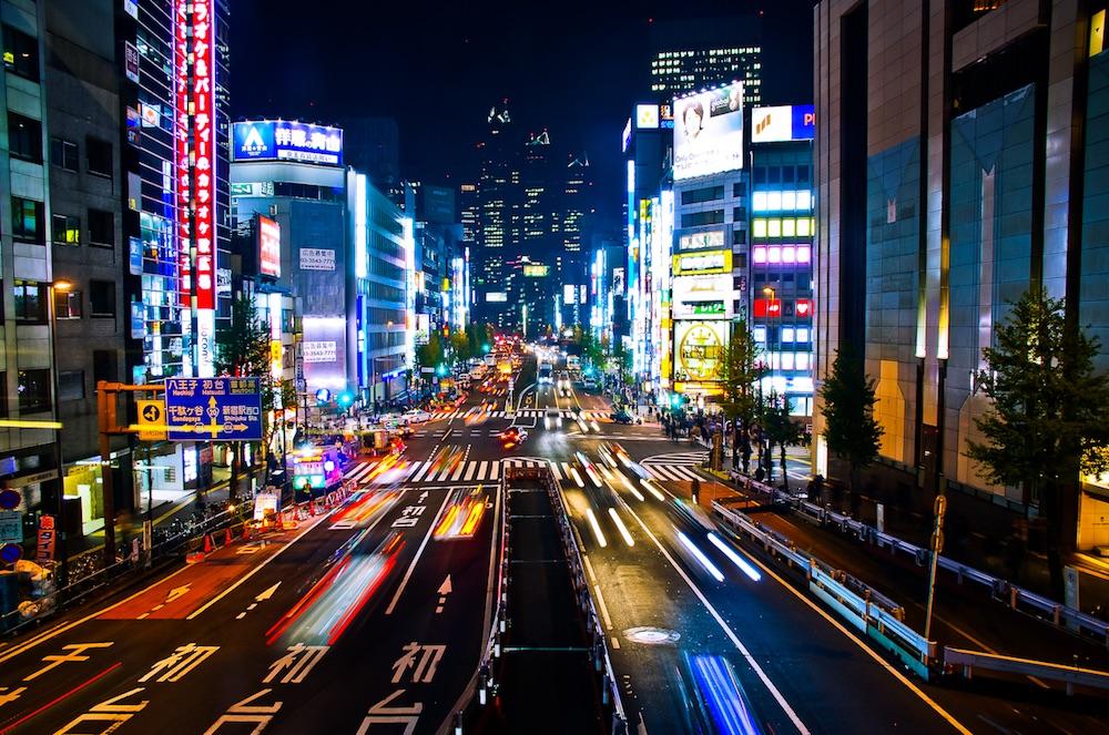 shinjuku tokyo prefecture japan