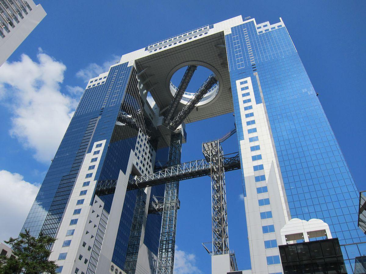 Sky building osaka prefecture japan