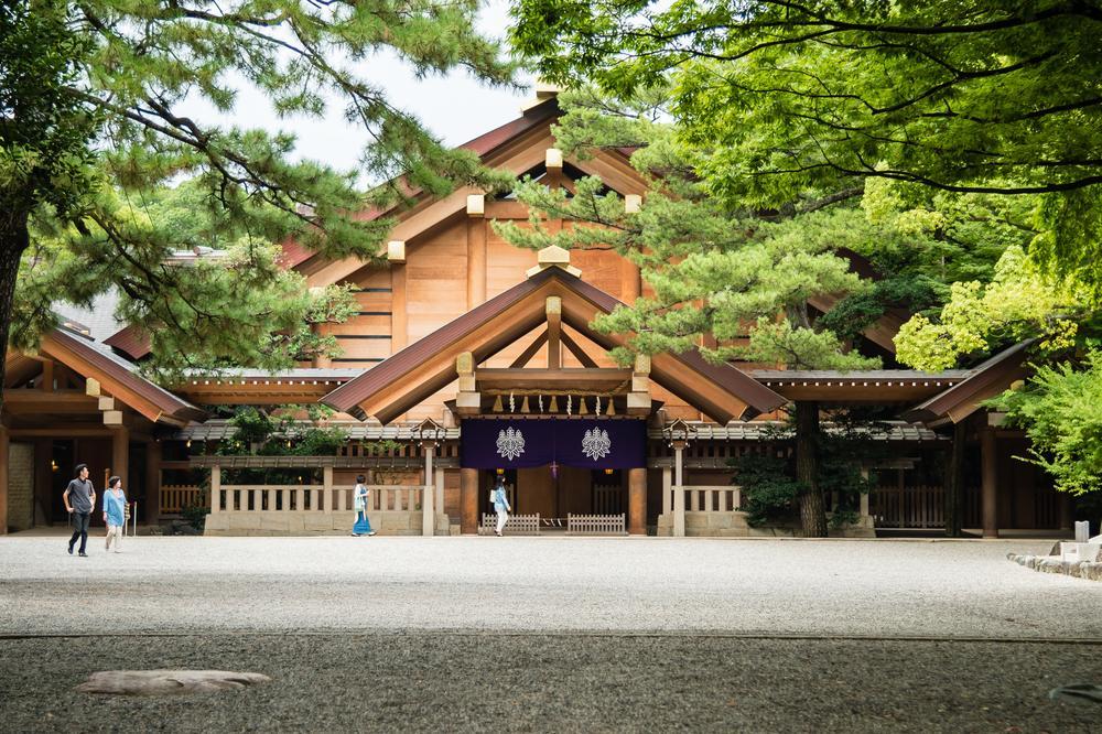 atsuta shrine Aichi Prefecture Japan