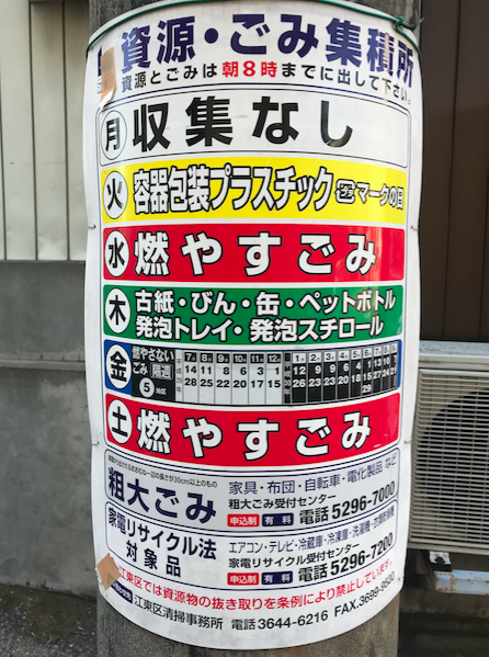 Sorting out garbage in Japan – Japanese words for Trash