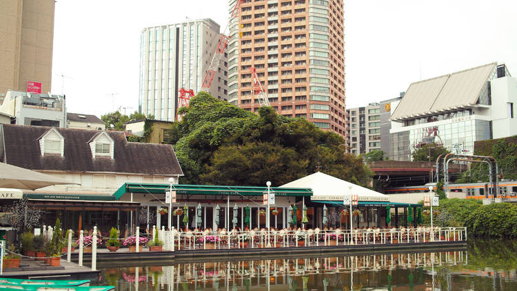 Cafes in Iidabashi and Kagurazaka that are good for Studying - Canal Cafe (Restaurant and Café)