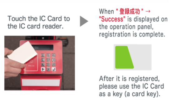 Paying with IC Card, image, photo, picture, illustration