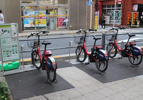 Docomo Bike for Rental, image, photo, picture, illustration