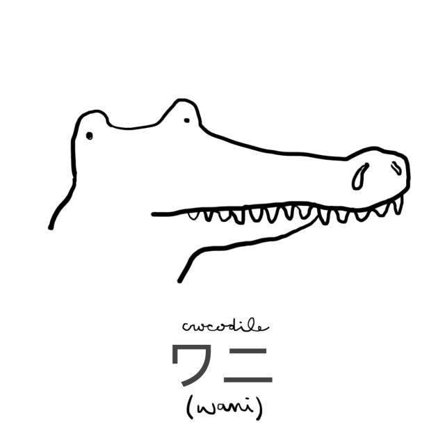 Animal: Crocodile 鰐 (ワニ)