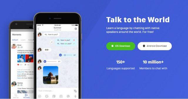 best japanese language exchange apps - hellotalk