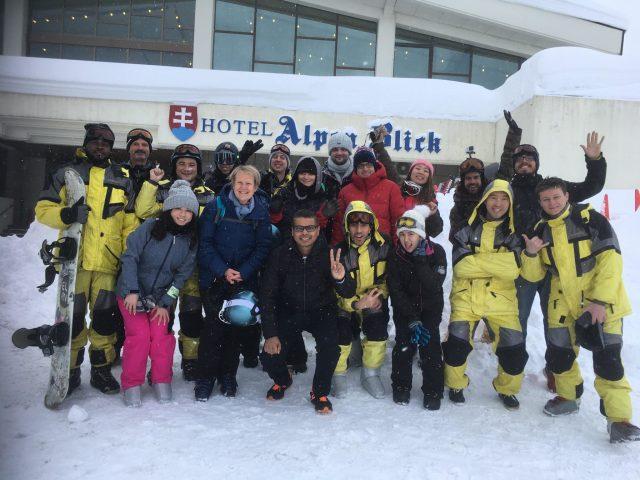 Japanese Language School Ski Event