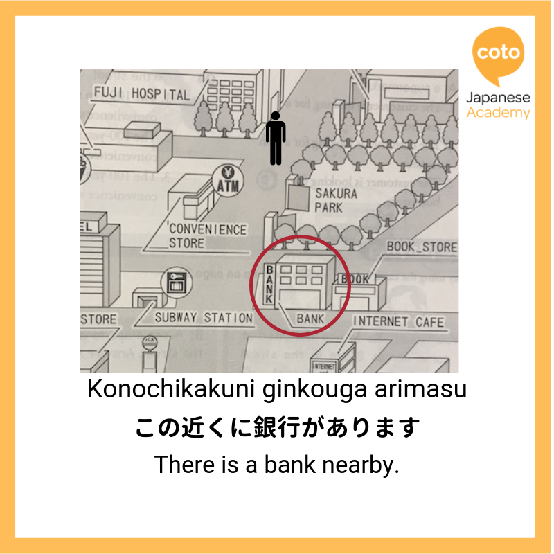 Nearby in Japanese, image, photo, picture, illustration