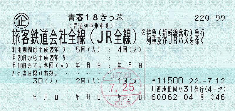 Shinkansen ticket, image, photo, picture, illustration