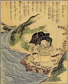 Japanese Youkai, azuki arai, azuki togi, image, photo, picture, illustration