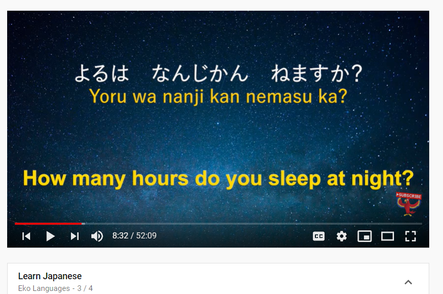 top 50 youtube channels to learn japanese - eko languages