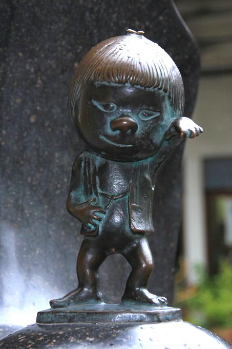 Japanese Youkai, zashiki warashi, image, photo, picture, illustration