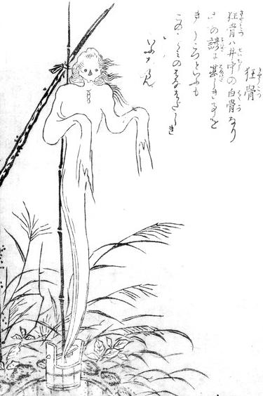 Japanese Youkai, kyokotsu, image, photo, picture, illustration