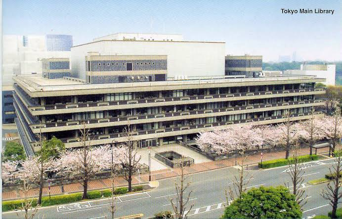 free public libraries in tokyo to learn japanese - national diet library ndl (tokyo main library)
