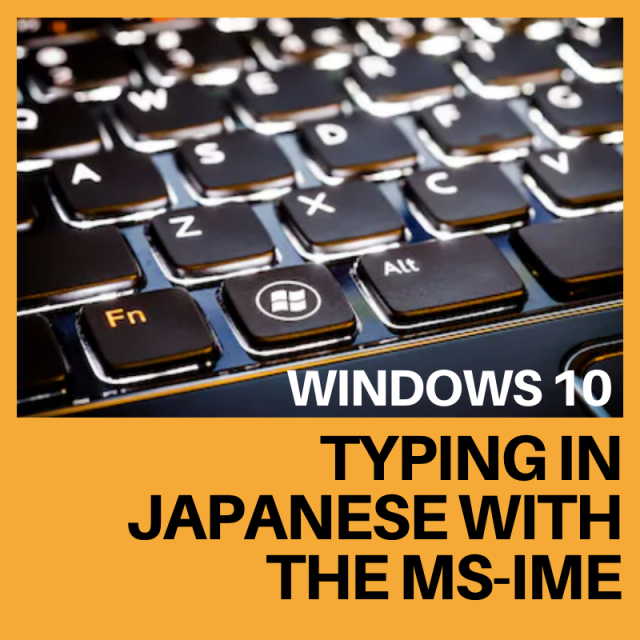 How to Type in Japanese on PC - Typing in Japanese Using ...