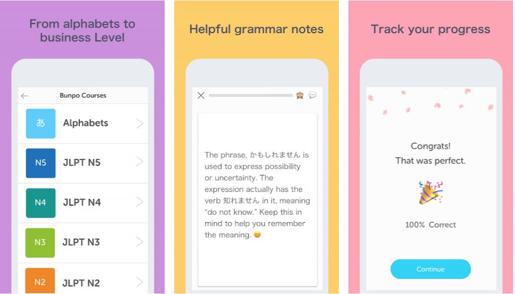 JLPT N2 Study - Bunpo App