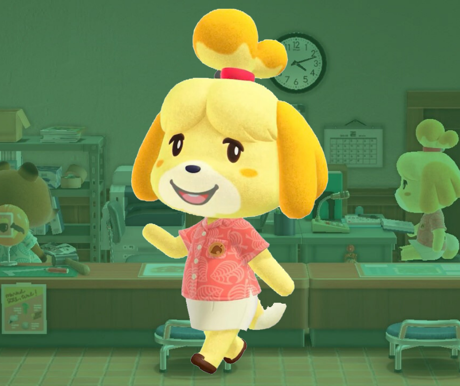 Learn Japanese with Animal Crossing: Isabelle - Shizue