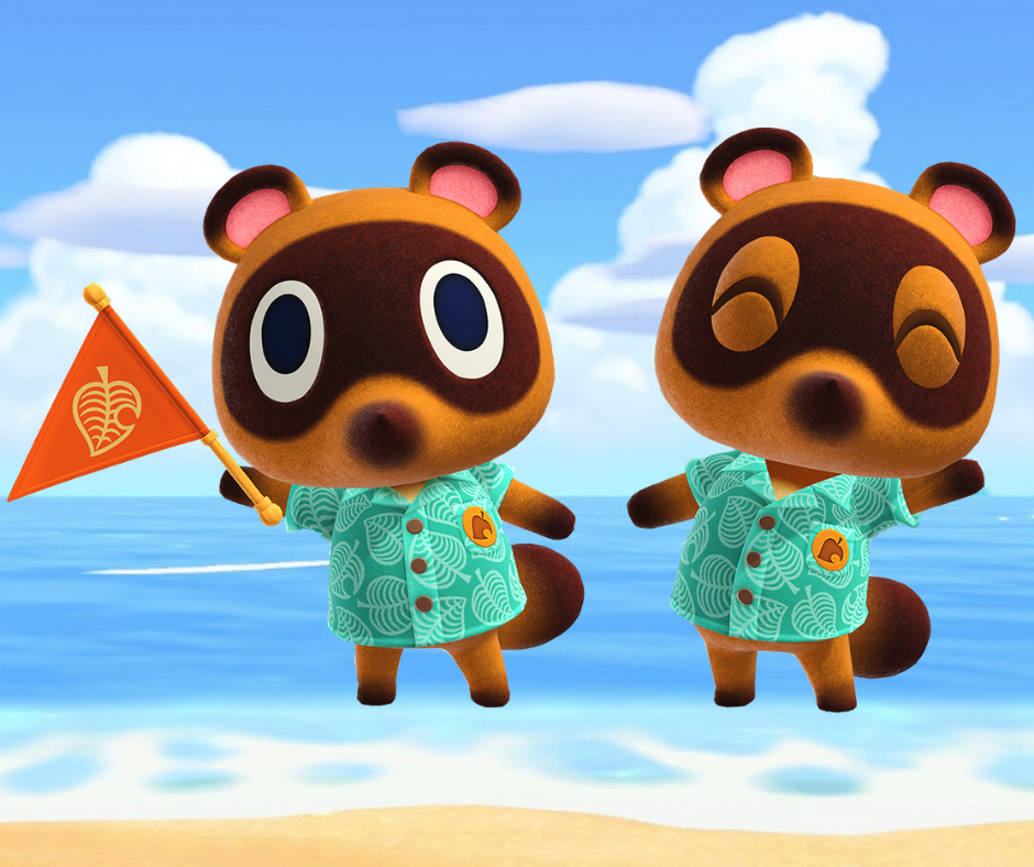 Learn Japanese with Animal Crossing: Timmy and Tommy - まめきちとつぶきち