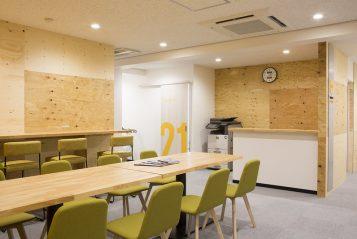 Tokyo Japanese Language School 4th floor student lounge