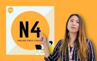 Japanese sensei teaching JLPT N4 online prep course