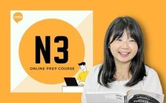 Japanese sensei teaching JLPT N3 online prep course