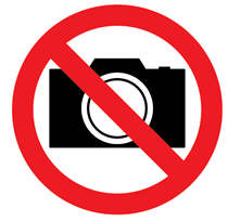 no photos/video sign in Japan